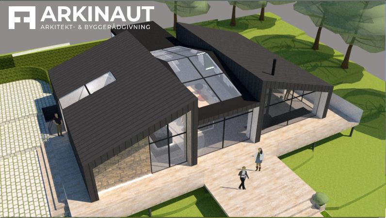 Arkitekttegnet villa med udsigt - Arkinaut Arkitekt- og byggerådgivning ApS 4
