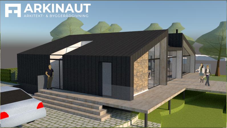 Arkitekttegnet villa med udsigt - Arkinaut Arkitekt- og byggerådgivning ApS 5