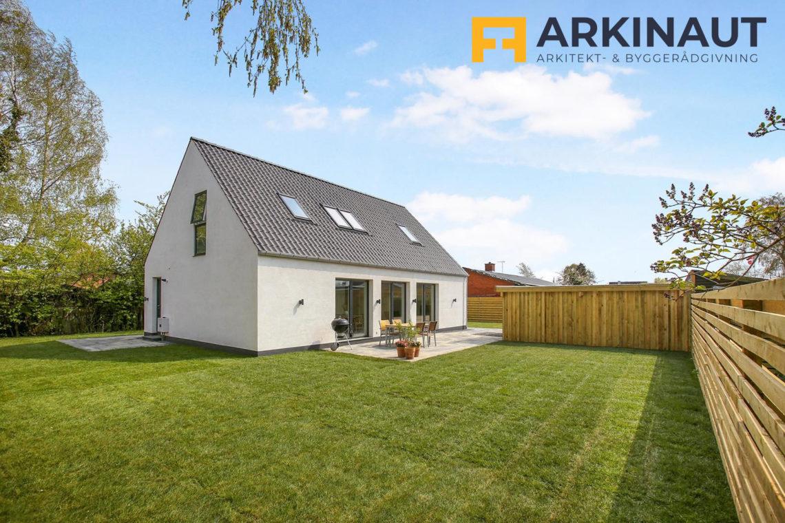 Ny førstesal med dobbelthøjt rum - Arkinaut Arkitekt- og byggerådgivning ApS