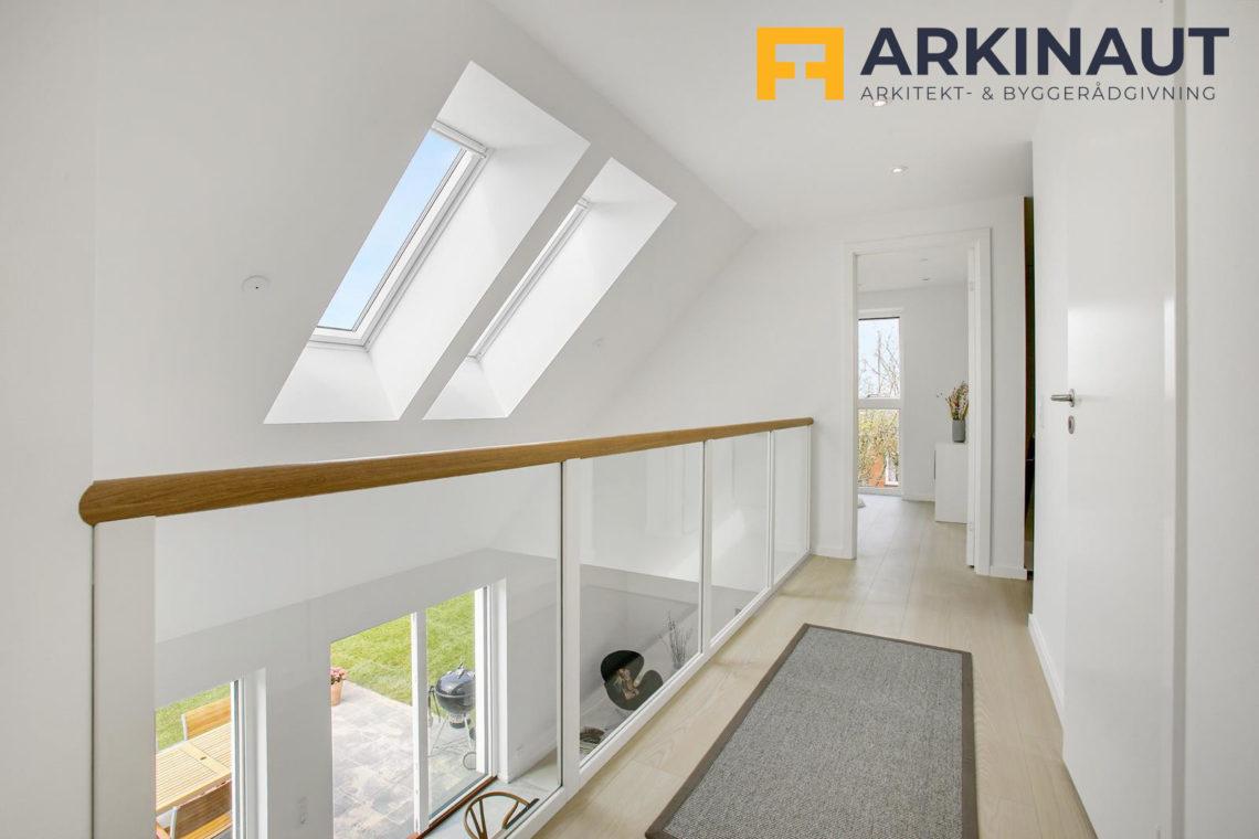 Ny førstesal med dobbelthøjt rum - Arkinaut Arkitekt- og byggerådgivning ApS 7
