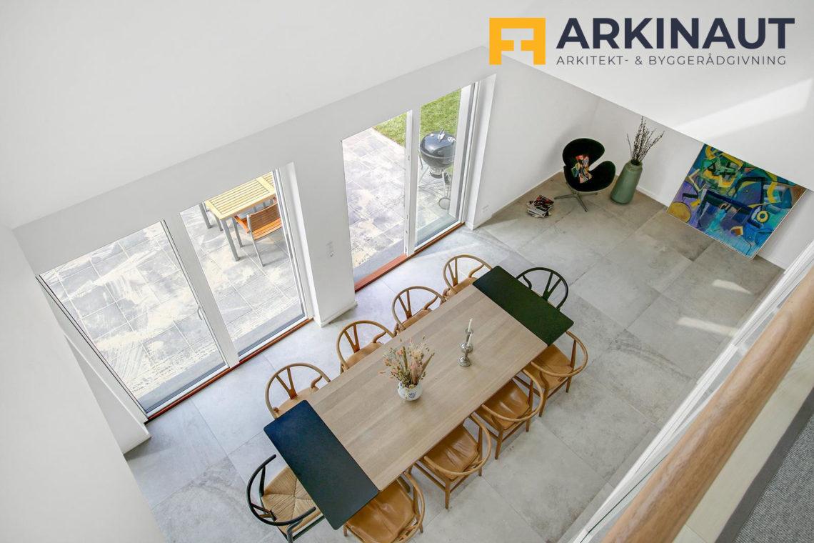 Ny førstesal med dobbelthøjt rum - Arkinaut Arkitekt- og byggerådgivning ApS 6