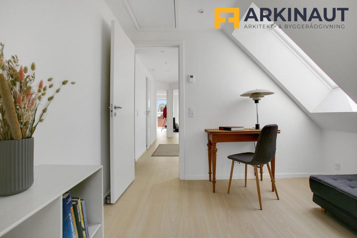 Ny førstesal med dobbelthøjt rum - Arkinaut Arkitekt- og byggerådgivning ApS 5
