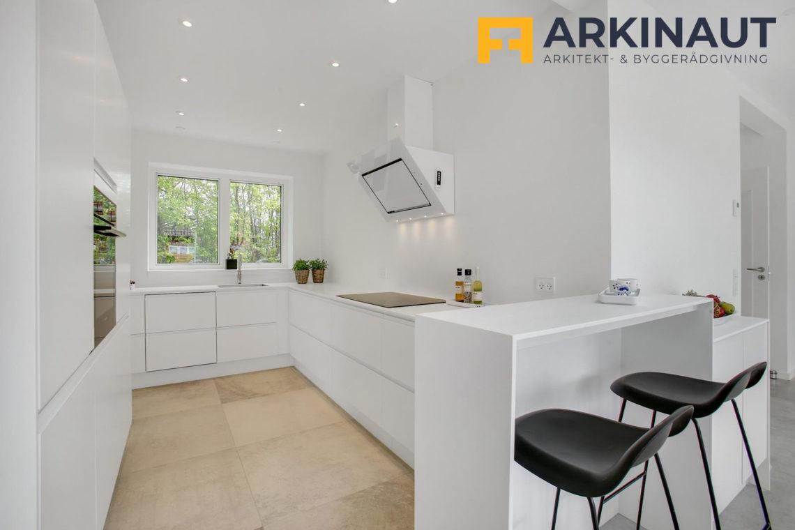 Ny førstesal med dobbelthøjt rum - Arkinaut Arkitekt- og byggerådgivning ApS 16