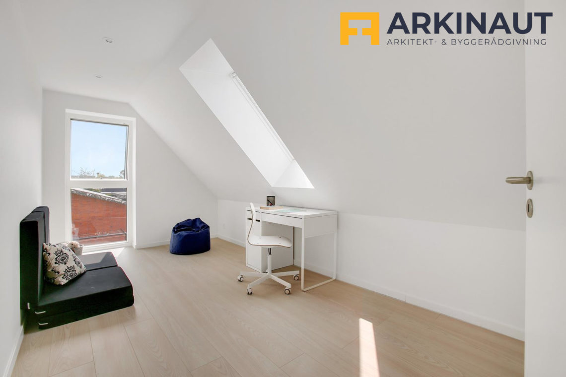 Ny førstesal med dobbelthøjt rum - Arkinaut Arkitekt- og byggerådgivning ApS 4