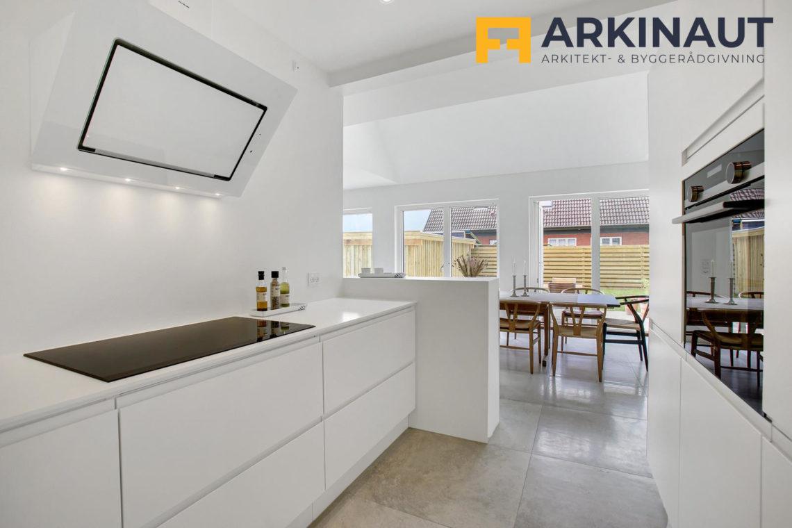 Ny førstesal med dobbelthøjt rum - Arkinaut Arkitekt- og byggerådgivning ApS 15