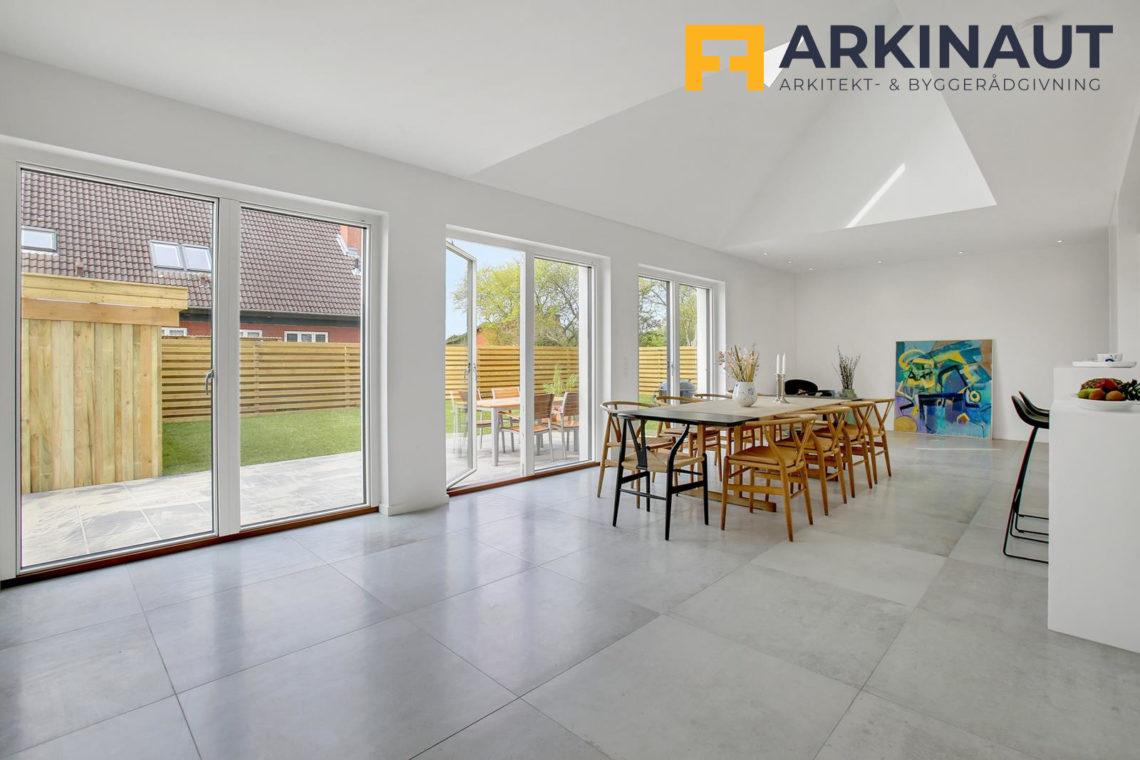 Ny førstesal med dobbelthøjt rum - Arkinaut Arkitekt- og byggerådgivning ApS 11