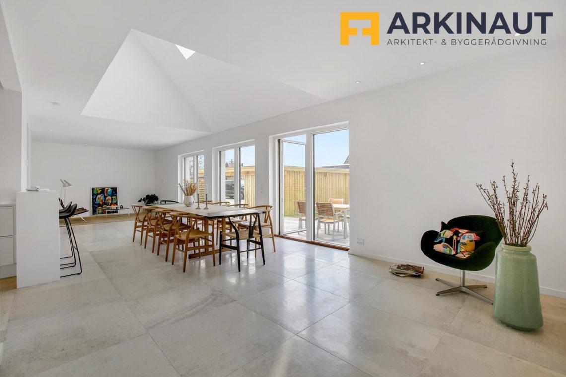 Ny førstesal med dobbelthøjt rum - Arkinaut Arkitekt- og byggerådgivning ApS 10