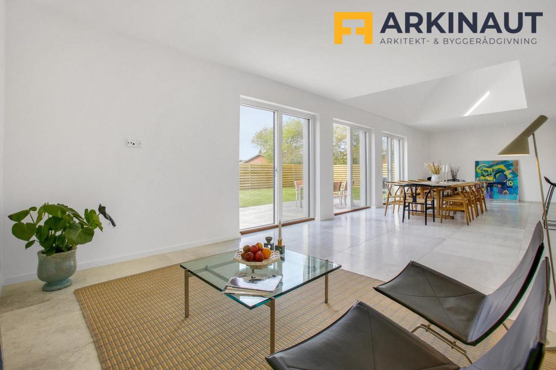 Ny førstesal med dobbelthøjt rum - Arkinaut Arkitekt- og byggerådgivning ApS 9