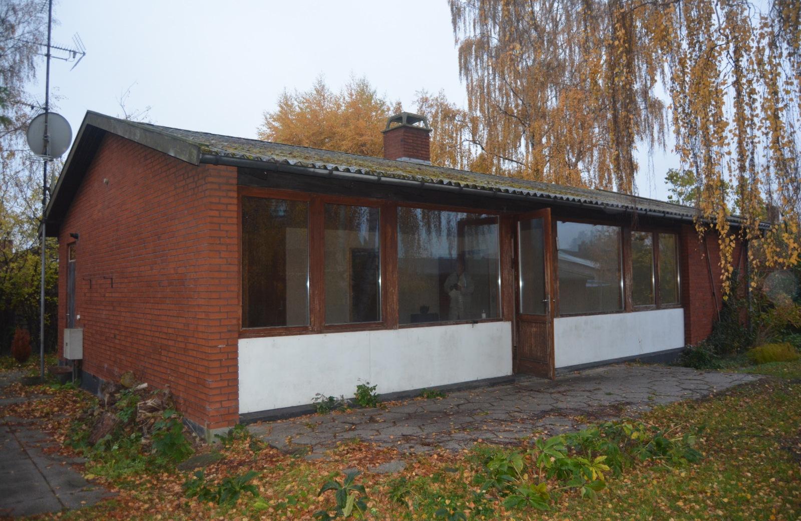 Rødstens hus før ny første sal - Arkinaut Arkitekter ApS