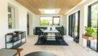 Tilbygning med akustikloft og ovenlys - Arkinaut Arkitekt- og byggerådgivning ApS