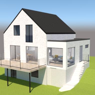 Tilbygning og ombygning etc - Arkinaut Arkitekt- og byggerådgivning ApS 8