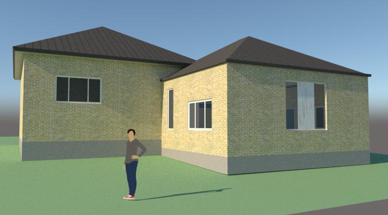 Tilbygning til bungalow - Arkinaut Arkitekt- og byggerådgivning ApS 2
