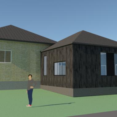 Tilbygning til bungalow - Arkinaut Arkitekt- og byggerådgivning ApS 4