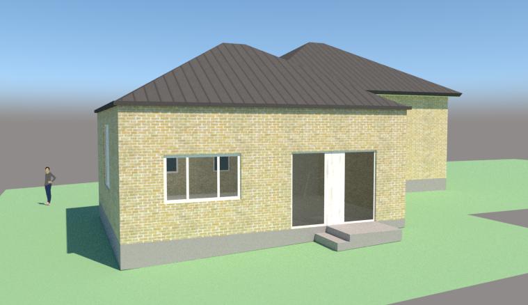 Tilbygning til bungalow - Arkinaut Arkitekt- og byggerådgivning ApS 3