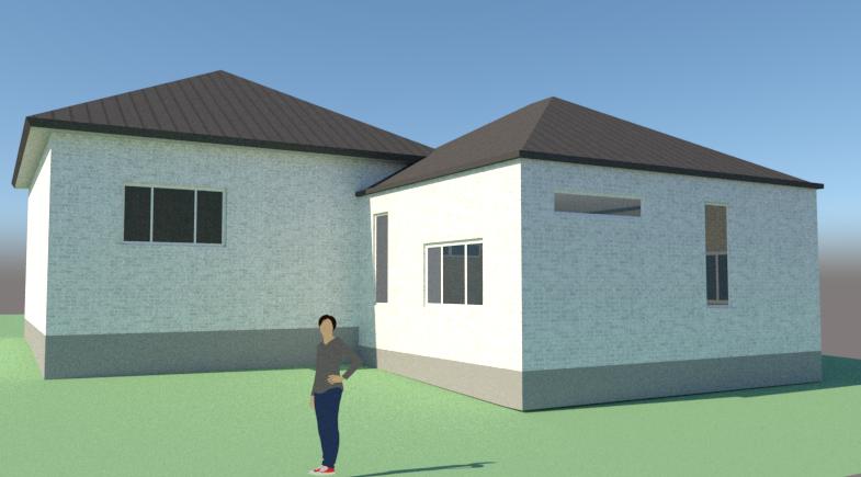 Tilbygning til bungalow - Arkinaut Arkitekt- og byggerådgivning ApS