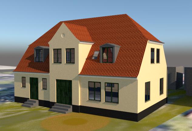 Enfamiliehus i gammel stil - Arkinaut Arkitekt- og byggerådgivning ApS