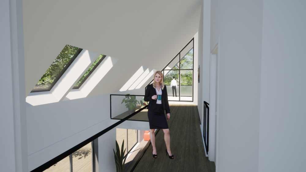 Ny førstesal på parcelhus - Arkinaut Arkitekt- og byggerådgivning ApS 5
