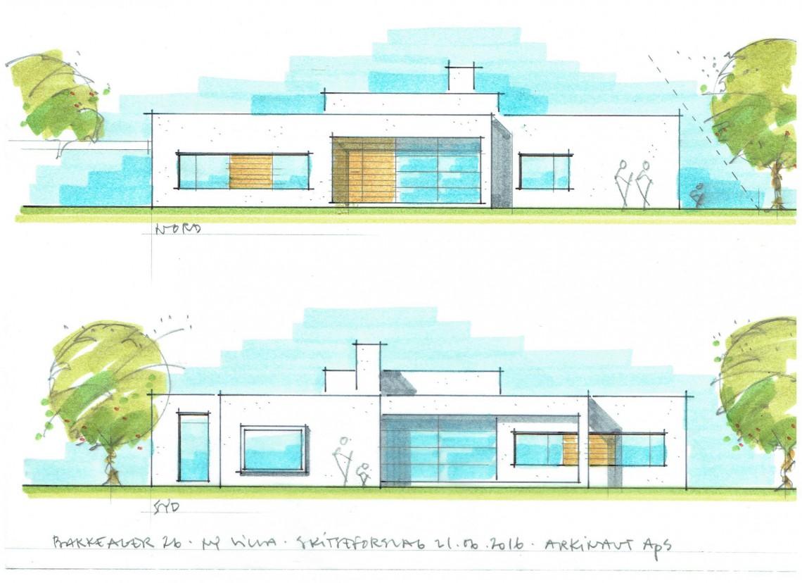 Ny villa i Jyllinge 02 - Arkinaut Arkitekter ApS