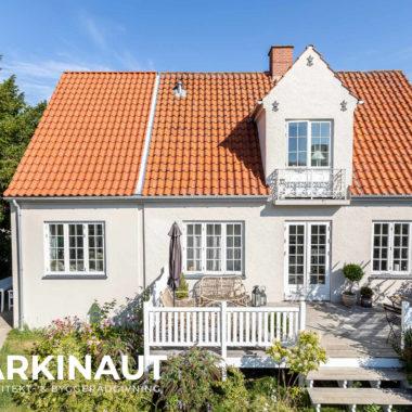 Tilbygning til symmetrisk ældre villa - Arkinaut Arkitekt- og byggerådgivning ApS 4