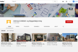Arkinaut Arkitekter ApS på YouTube