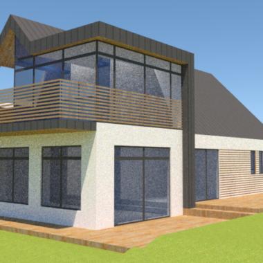 Tilbygning og hjørnekvist - Arkinaut Arkitekt- og byggerådgivning ApS 2