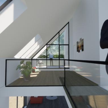 Ny førstesal på parcelhus - Arkinaut Arkitekt- og byggerådgivning ApS 1